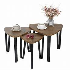 Cf Furniture Living Room 3 Set L Table by Nesting Tables Living Room Coffee Table Sets Of 3 Stacking