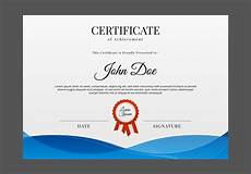 Certificate Of Manufacture Template Free Certificate Template Vector Download Free Vectors