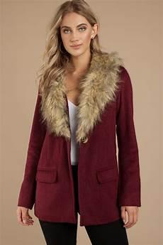 coats for with trendy wine coat wine coat faux fur coat wine coat
