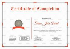Certificate Of Successful Completion Successful Graduation Completion Certificate Design