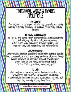 Essay Transitional Words Mrs Orman S Classroom Common Core Tips Using