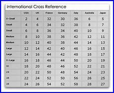 Uk And Us Size Conversion Chart Us Size International Size Chart Conversion