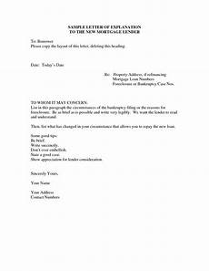 Letter Of Explanation Mortgage Letter Of Explanation For Cash Out Refinance Template