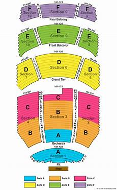 The Harv Seating Chart Durham Performing Arts Center Seating Chart