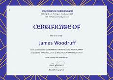 Free Online Certificate Templates For Word Free Certificate Templates For Word Top Form Templates
