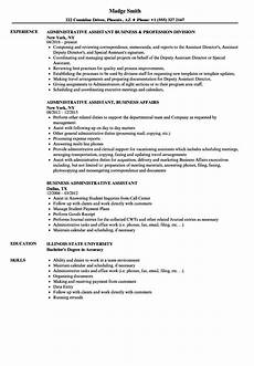 Administrative Assistant Duties For Resume Business Administrative Assistant Resume Samples Velvet Jobs