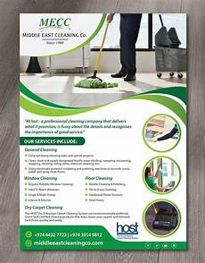 Office Cleaning Flyer Elegant Playful Cleaning Service Flyer Design For A