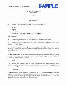 Commission Agreement Free 6 Commission Agreement Contract Forms In Pdf Ms Word