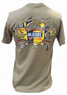 Crab T Shirt Designs New Ripped Old Bay Crab T Shirt Ebay