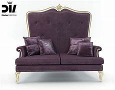 High Back Sofa Chair 3d Image by High Back Classic Sofa By Dv Home Collection 3d