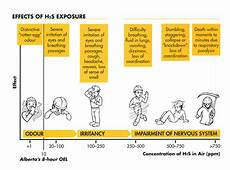 H2s Exposure Chart Health Topic What Is Hydrogen Sulphide H2s Health