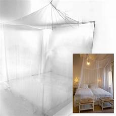 bed sheer panel canopy net mosquito net bedroom insect