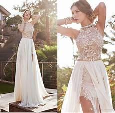 discount cheap in stock summer beach wedding dresses