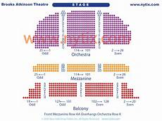 Brooks Atkinson Theatre Seating Chart Brooks Atkinson Theatre On Broadway In Nyc