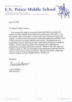 Recommendation Letter From Teacher Sample Letter Of Recommendation For Teacher
