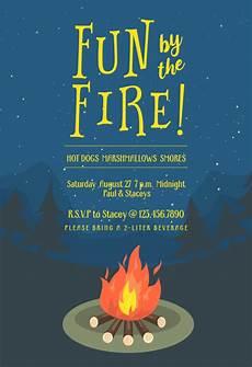Free Evite Templates Bonfire Bug Printable Party Invitation Template Free