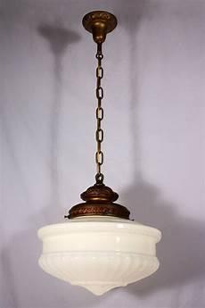 Large Glass Pendant Light Fixtures Large Antique Pendant Light Fixture With Original Milk