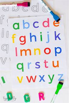 Alphabet Letters Printable Alphabet Activities Lowercase Letters Printable