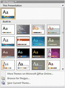 Office Com Powerpoint Themes The Evolution Of Themes Powerpoint Tutorials