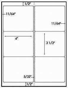 Avery 5164 Template Pdf 600 White Laser Only Glossy Labels 4 X 3 1 3 6 Per Sheet