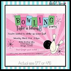 Free Printable Bowling Party Invitations For Kids Free Printable Kids Bowling Party Invitations Download Get