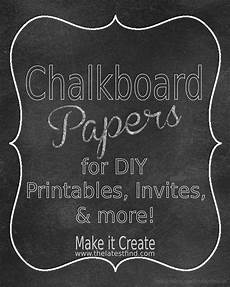 Chalkboard Website Template Make It Create Free Cut Files And Printables Chalkboard