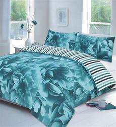 floral lilac or teal or duvet cover p
