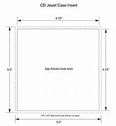 Dimensions Of Cd Case Cd Case 2 Panel Insert Templates For Duplication And