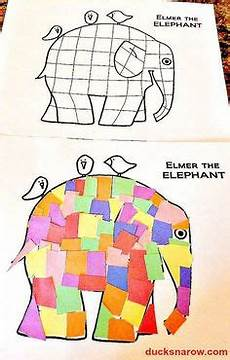 Elephant Head Pattern Use The Printable Outline For