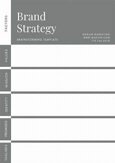 Branding Strategy Template A Guide To Developing A Brand Strategy With Examples