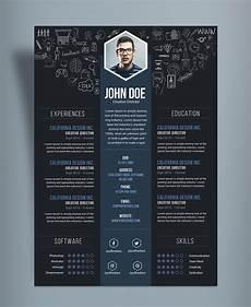 Creative Designer Cv Free Creative Resume Cv Design Template Psd File Good