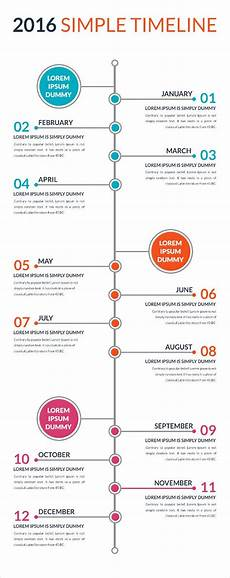 Tim Eline Free Simple Timeline Template Free Amp Premium Templates