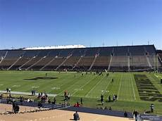 Ross Ade Stadium Seating Chart Rows Ross Ade Stadium Section 128 Rateyourseats Com