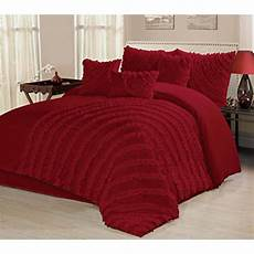 7 bed in a bag ruffled clearance bedding