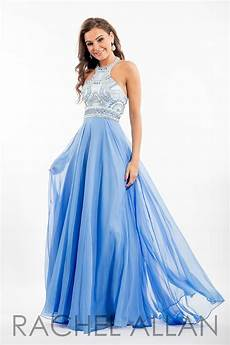 e1024 chiffon gown with bohemian beadwork and halter