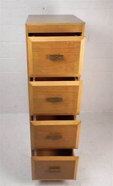 unique mid century modern file cabinet for sale at