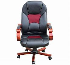 Warmiehomy Office Chair Swivel Faux Leather Armchair Height Adjustable by Faux Leather Computer Chair Adjustable Height Swivel Black