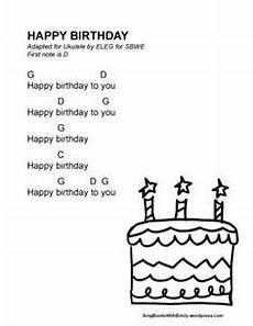 Happy Birthday Ukulele Chords Ukulele Notes For Happy Birthday Google Search In 2019