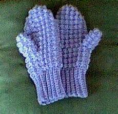 crochet mittens sue s free patterns crocheted mittens for adults