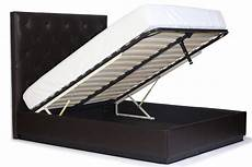 size gas lift storage bed with tufting