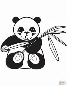 ausmalbild gehender panda ausmalbilder kostenlos zum