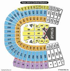 Uofl Cardinal Stadium Seating Chart Cardinals Seating Chart With Seat Numbers Review Home Decor