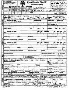 Barrow County Incident Report King County Sheriff Incident Report Bruce Barrett Death