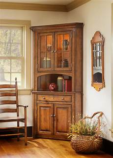 shaker corner china cabinet town country furniture