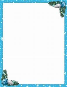 Blue Holiday Border Christmas Border Clip Art Page Border And Vector Graphics