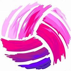 Cool Volleyball Designs Pink Volleyball Shirt Art Vector Clipart Pink Design