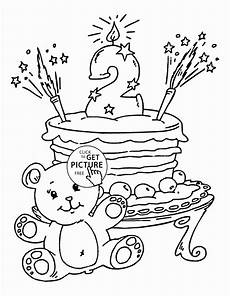 birthday coloring pages for in 2020 with images
