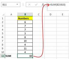 Excel Function Definition Sum Function In Excel How To Use