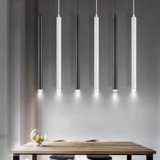 Light Tubes For Ceilings Led Pendant Lamp Long Tube Light Kitchen Island Dining