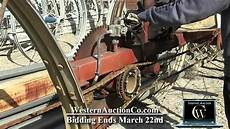 Lines For Sale 220 Wheel Line Mover For Sale At Auction Youtube